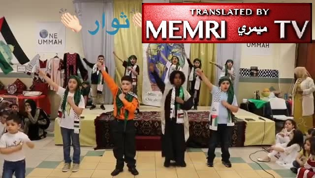 Children in Philadelphia Muslim Society: We Will Sacrifice Ourselves for Al-Aqsa; Will Chop off Their Heads, Subject Them to Eternal Torture